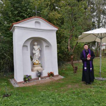 Oprava a vysvěcení kapličky sv. Panny Marie